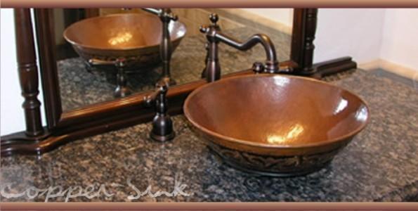 Vessel Copper Sinks