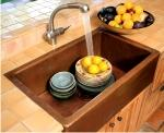 copper sinks kitchen bargain